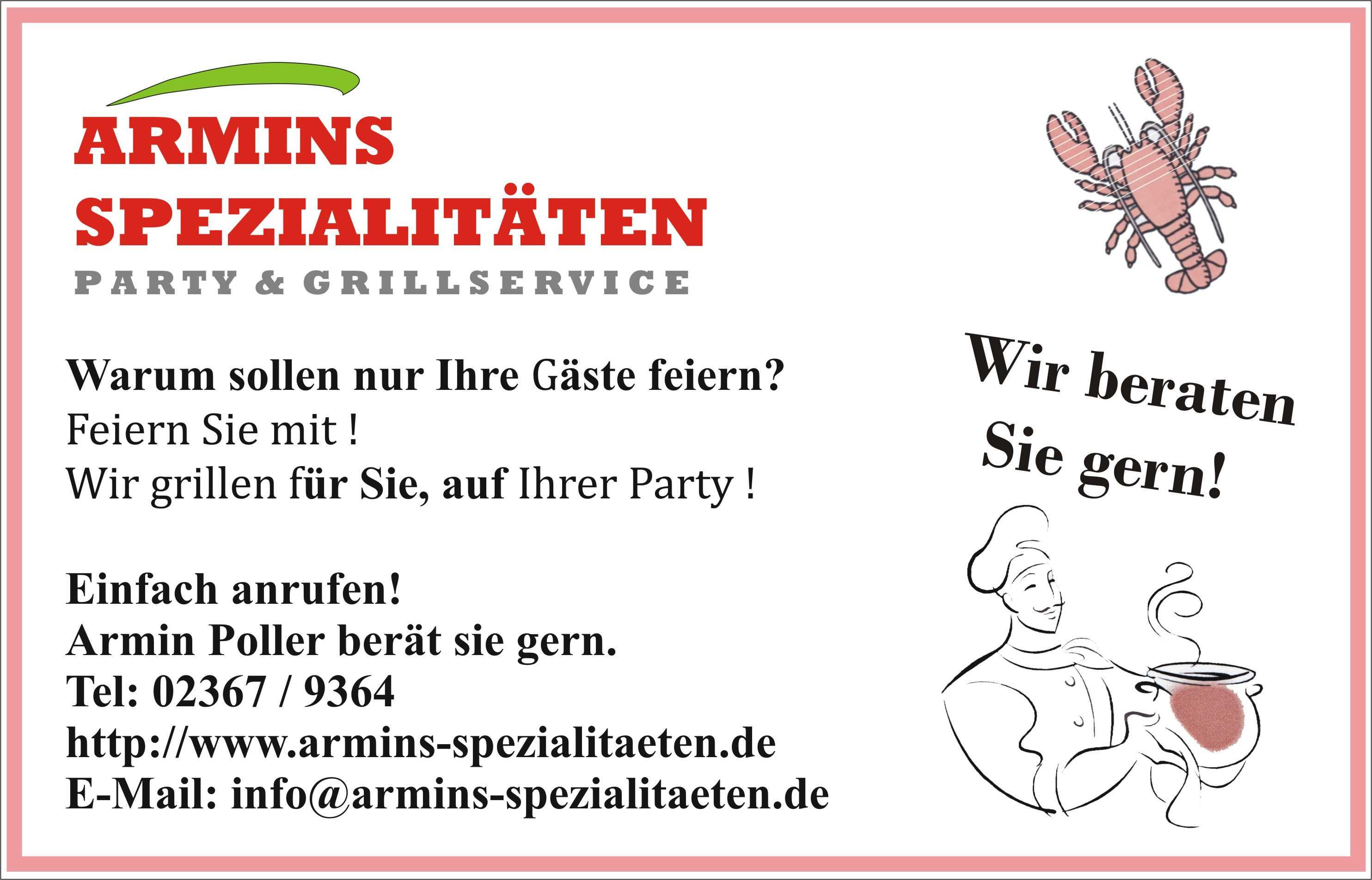 Armins Spezialitäten