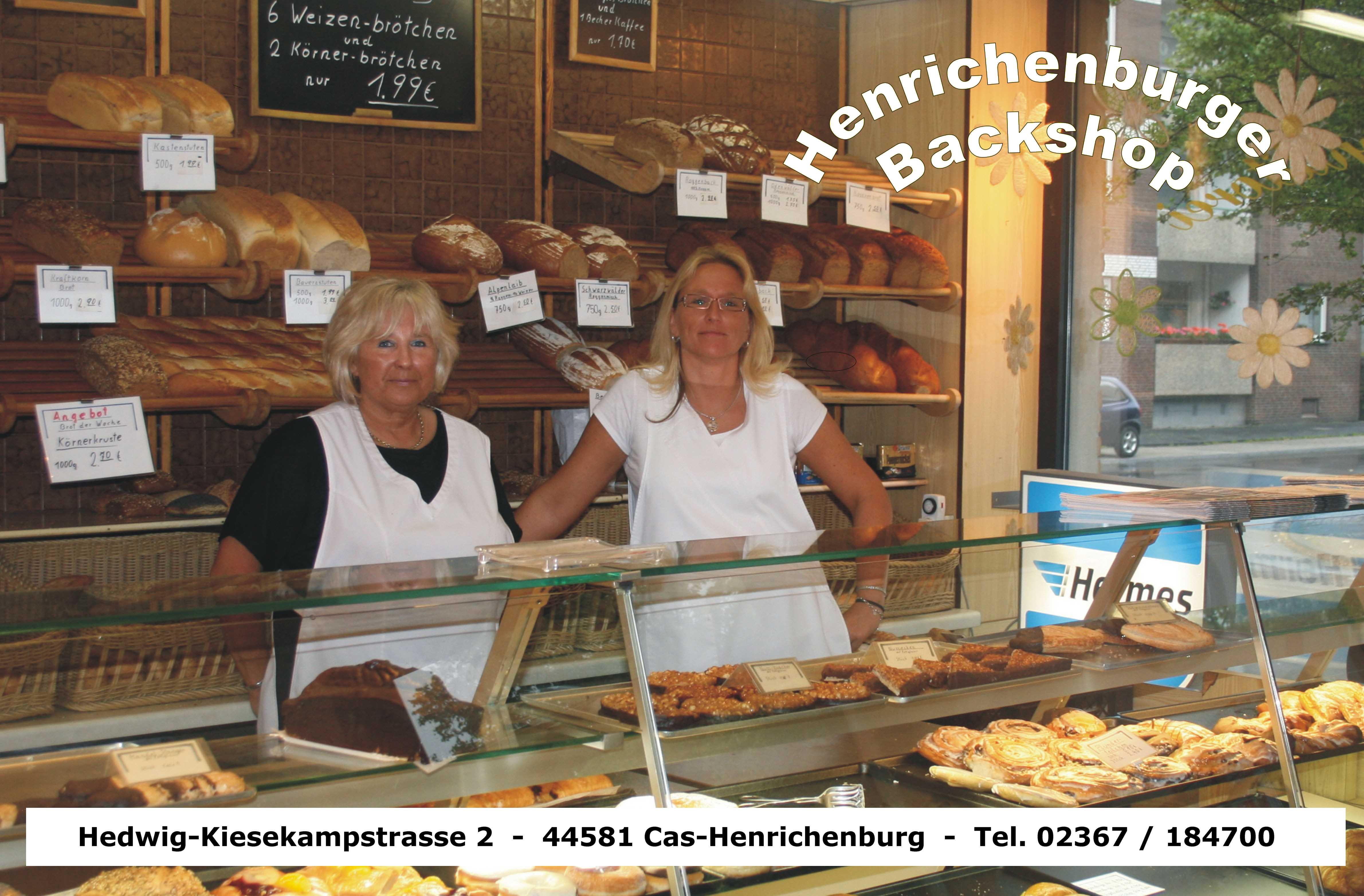 Backshop Henrichenburg