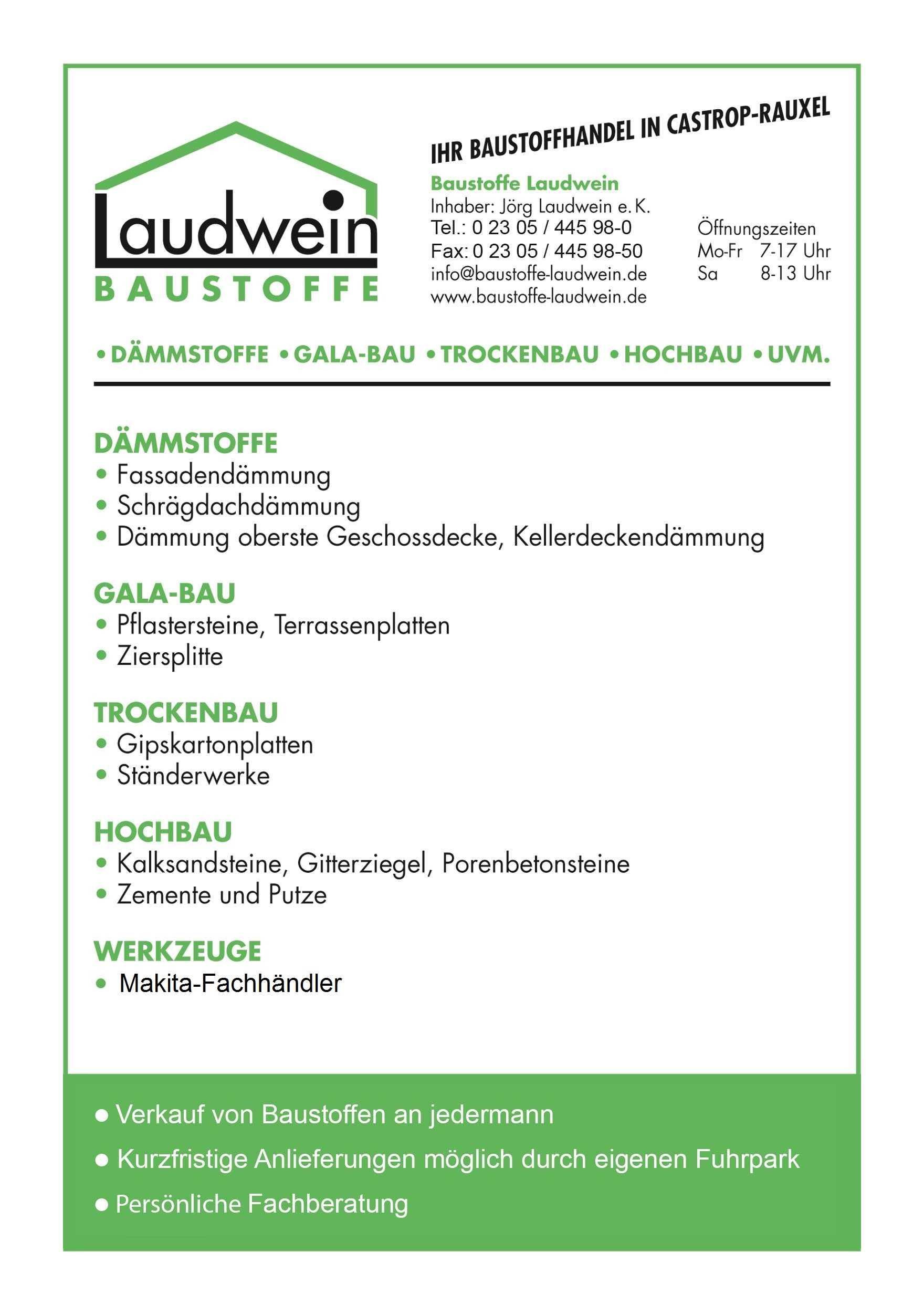 Laudwein - Baustoffe