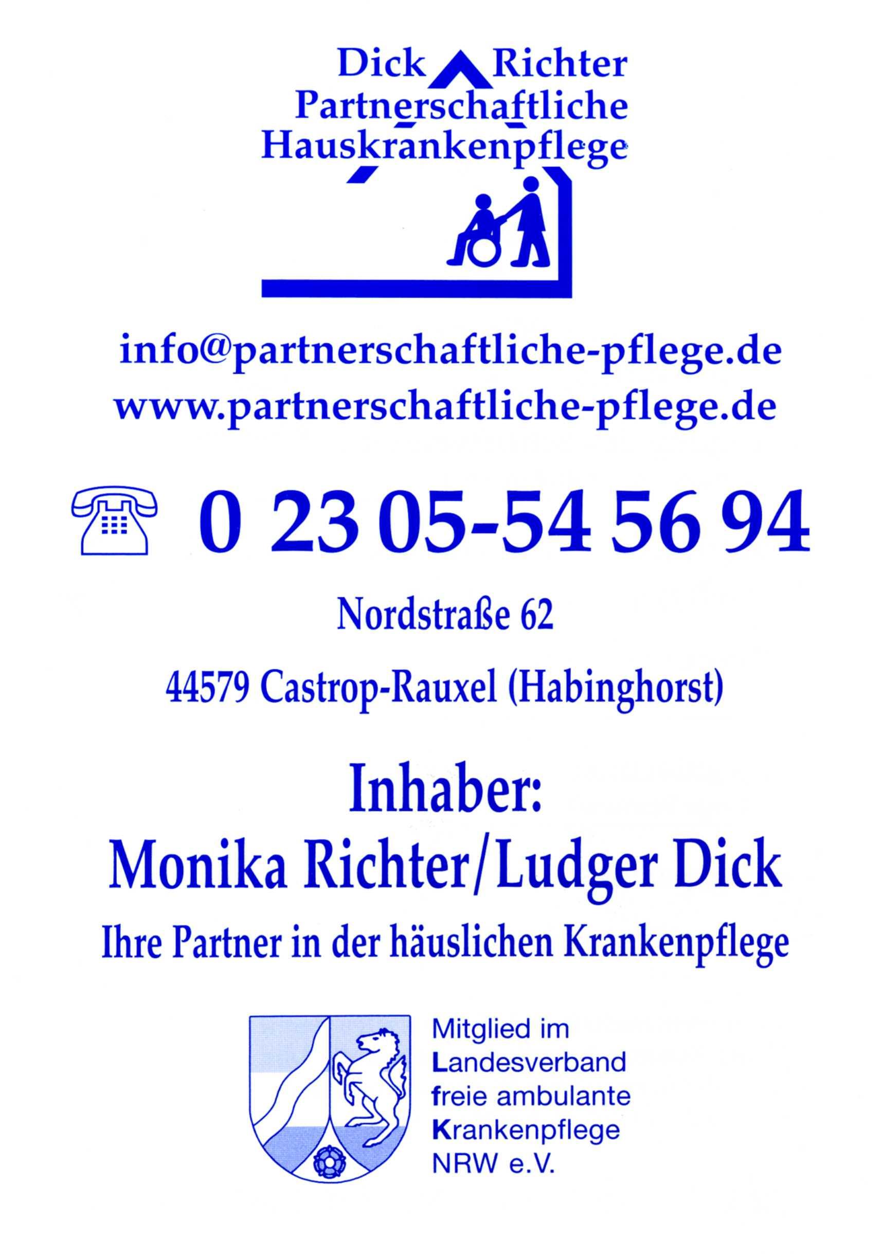 Dick Richter - Partnerliche Hauskrankenpflege